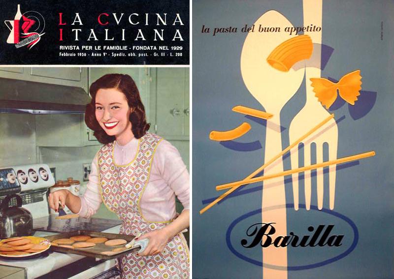 la cucina vintage rivisitata