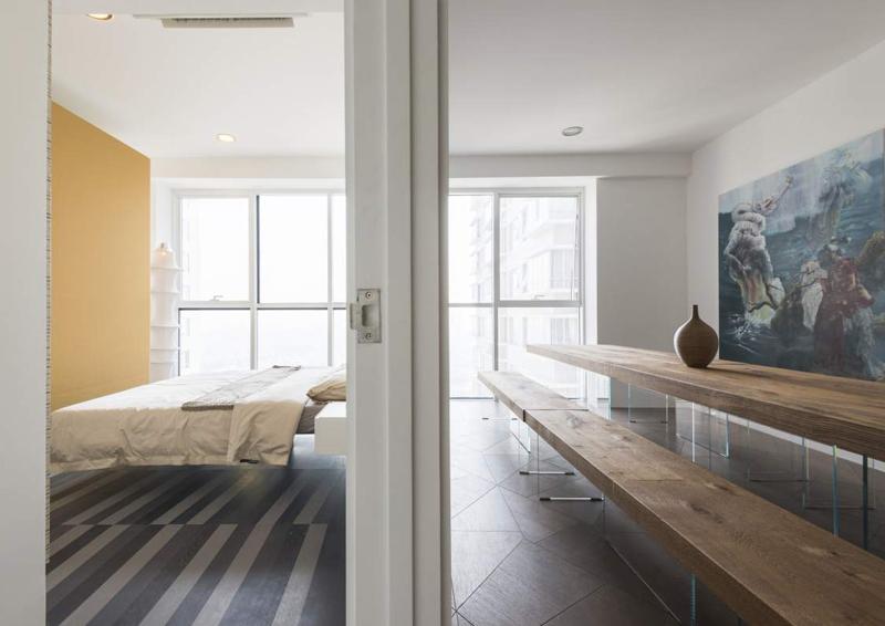 design shopping in appartamento Lago