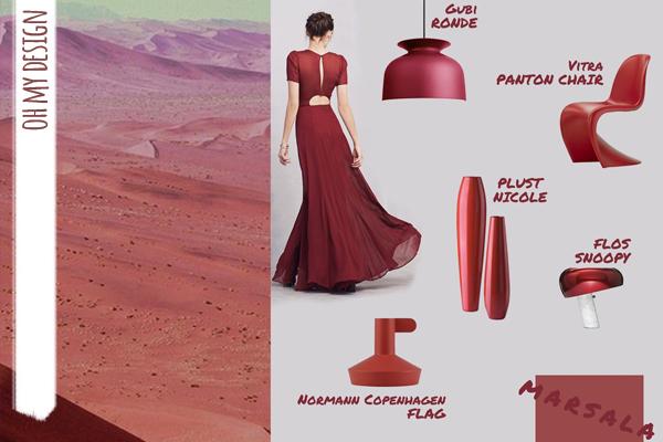 Marsala Pantone outfit