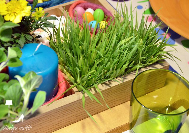 Easter green moodboard