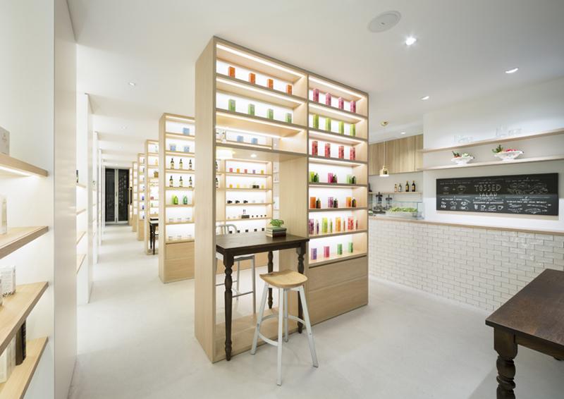Beauty Library, benessere in caffè e cosmetici