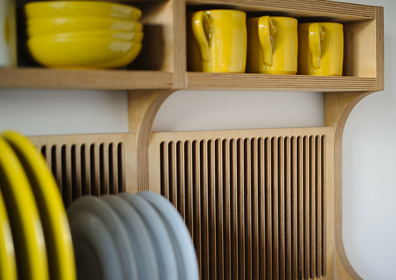 tutto a vista in cucina | mensole e scaffali aperti