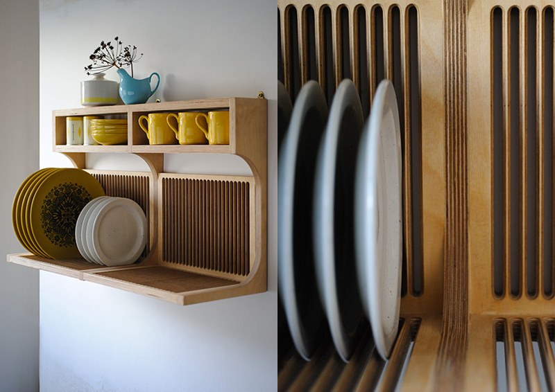 Tutto a vista in cucina mensole e scaffali aperti - Mensole cucina design ...