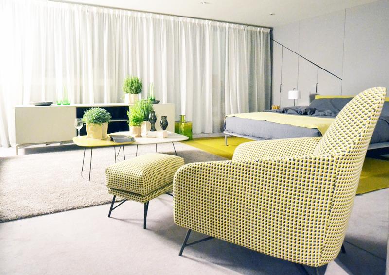 soggiorno ideale per ricevere e riposare