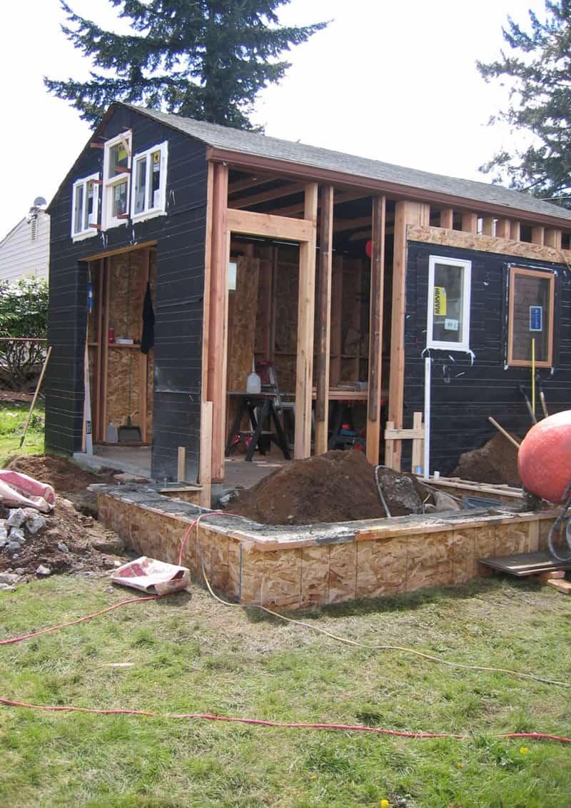 abitare in garage | idee per un recupero