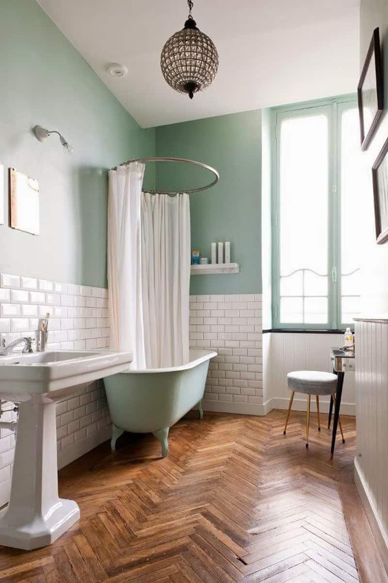 Legno in bagno idee per un restyling design outfit - Idee bagno design ...