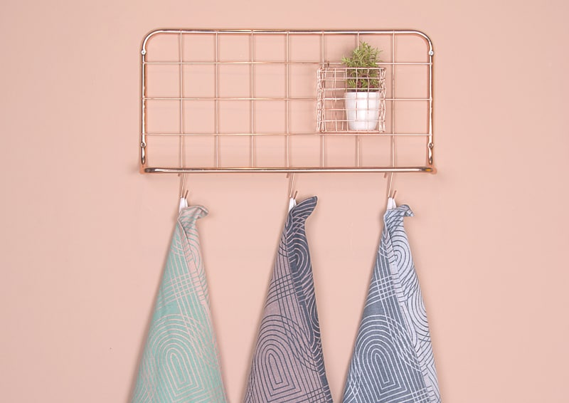 design in Pantone Rose Quartz e Serenity