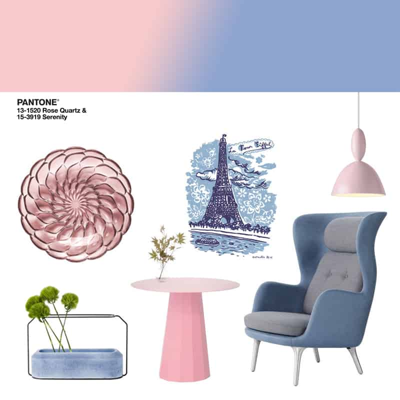 design in pantone rose quartz e serenity design outfit. Black Bedroom Furniture Sets. Home Design Ideas