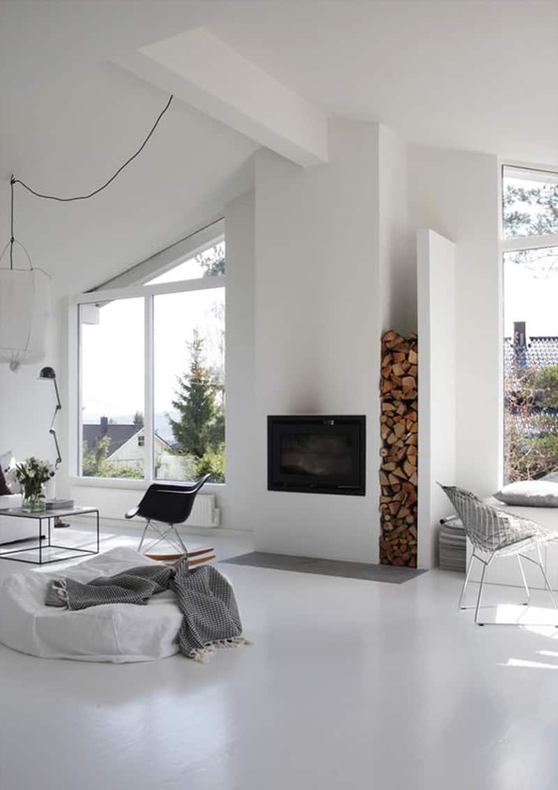 design time | febbraio| il camino cuore della casa