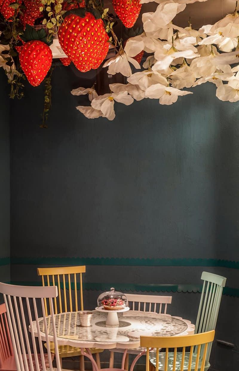 interior design visionario: tapas e dolci a Barcellona