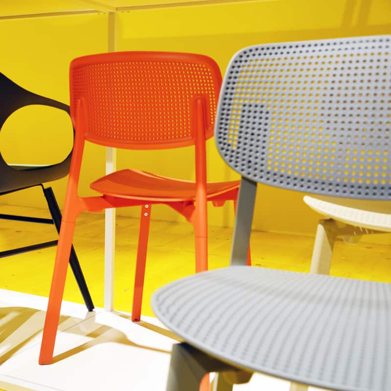 sedie colorate e design italiano da Maison et Objet