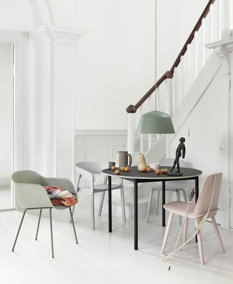 sedie pastello per un interior design goloso