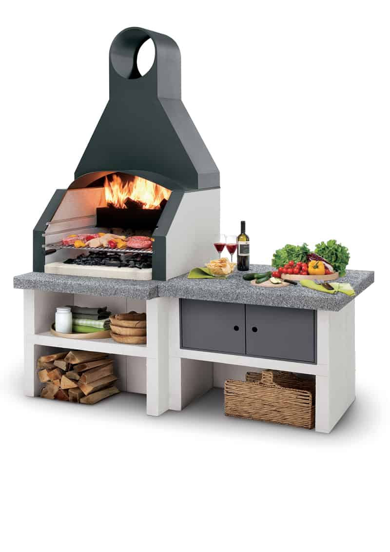 vita all'aria aperta: barbecue e cucine outdoor