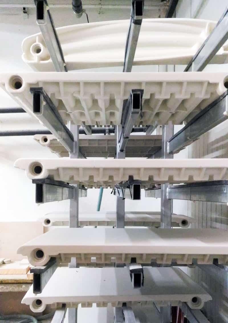 Civita Castellana, la ceramica diventa radiatore