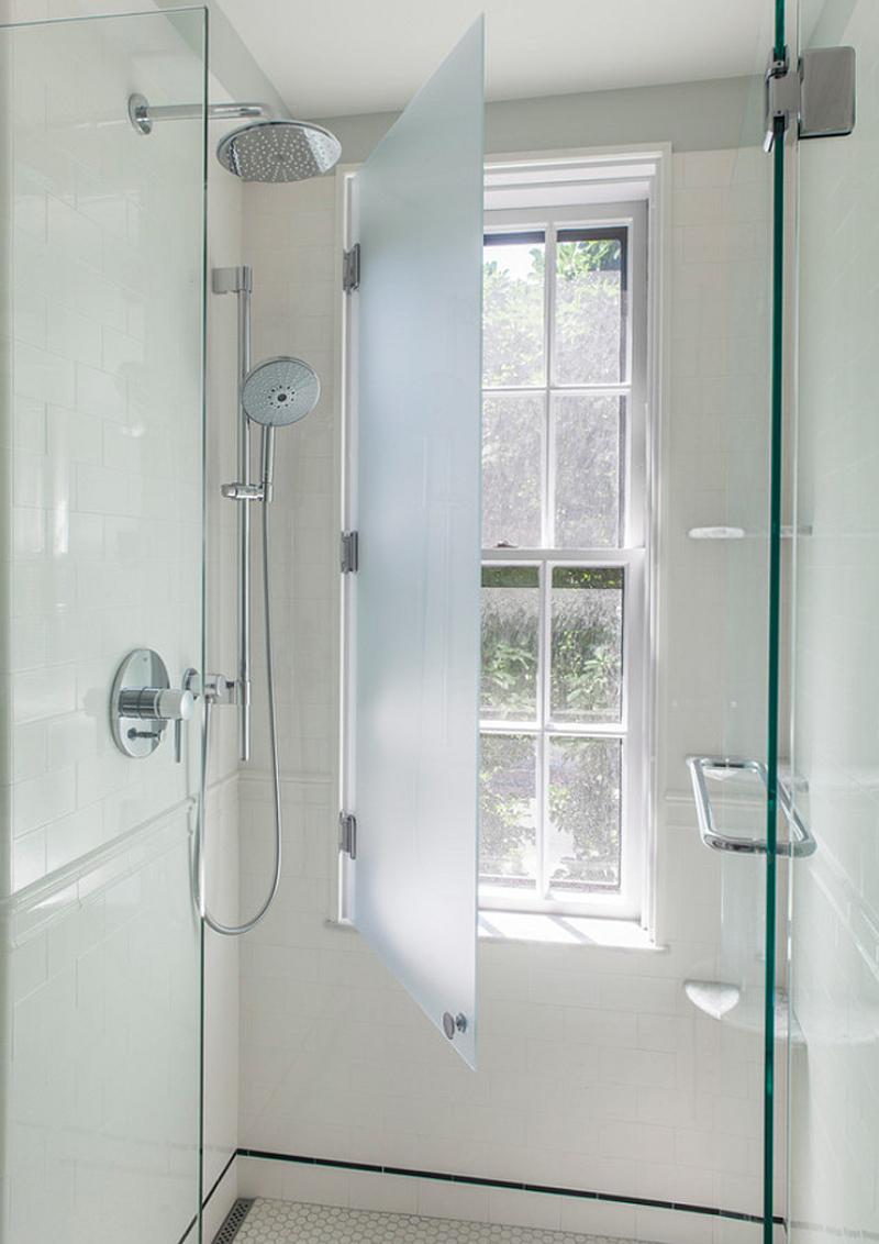 doccia davanti finestra : design outfit finestra nella doccia problemi, idee, soluzioni
