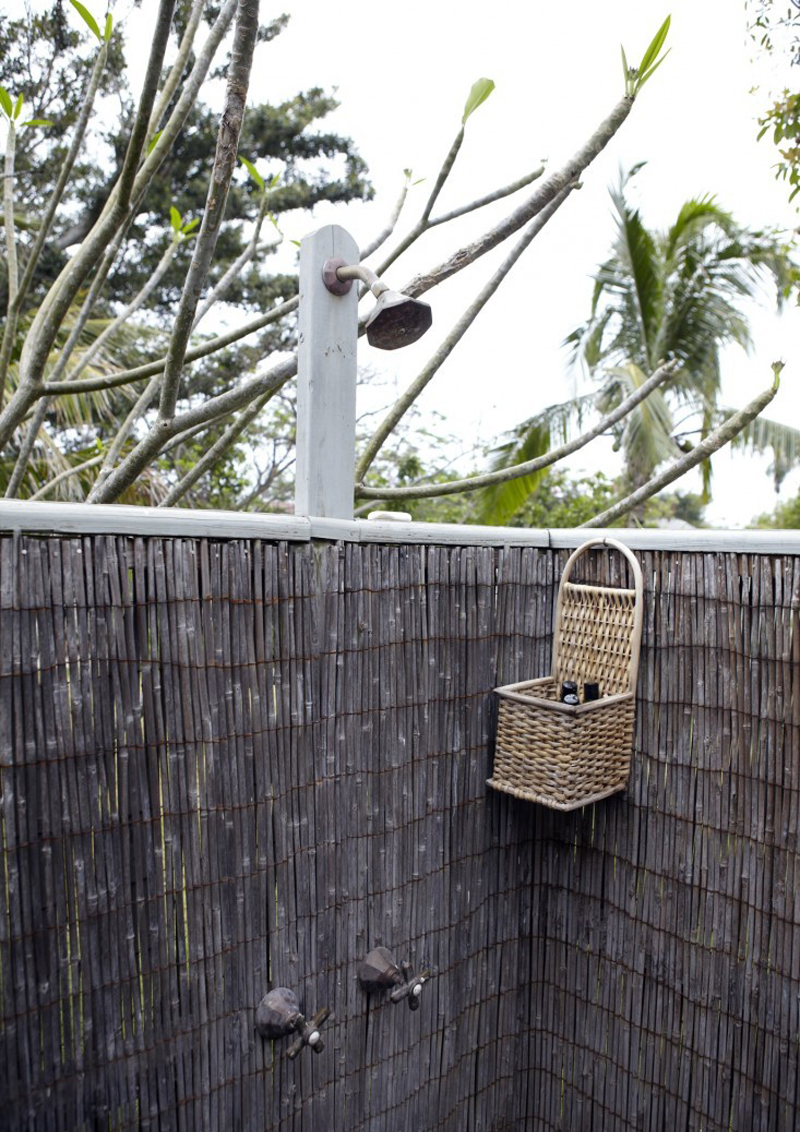 una casa alle Bahamas: acqua e architettura di una volta