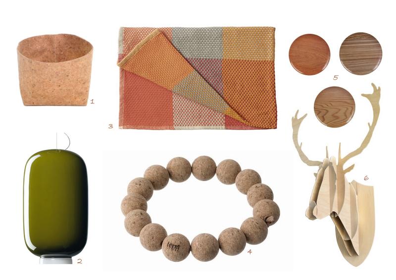casa in autunno: colori, luce, materiali