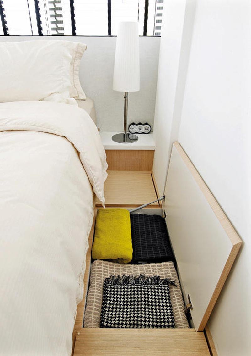 Letto su pedana idee salvaspazio per la camera da letto for Idee per la camera da letto