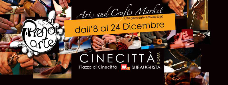 mercatini di Natale Roma | Arts and Crafts Market