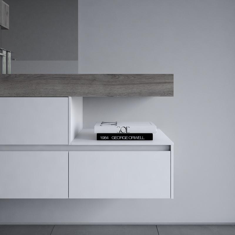 progetto bagno | la collezione modulare NYU di Ideagroup