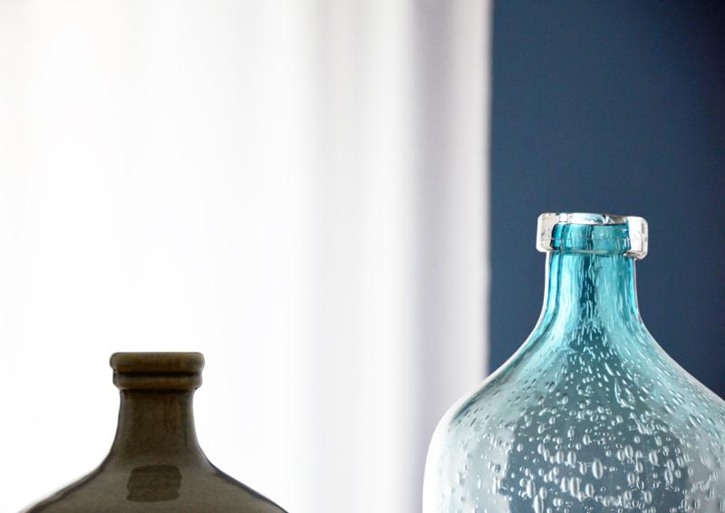 restyling camera da letto | trasparenze in blu