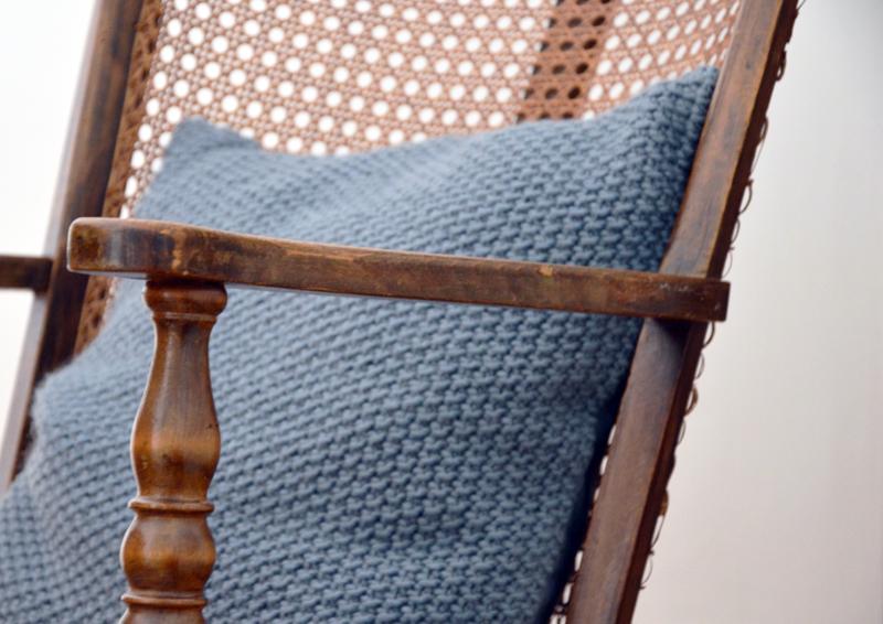 restyling camera da letto | cuscino tricot di H&M Home