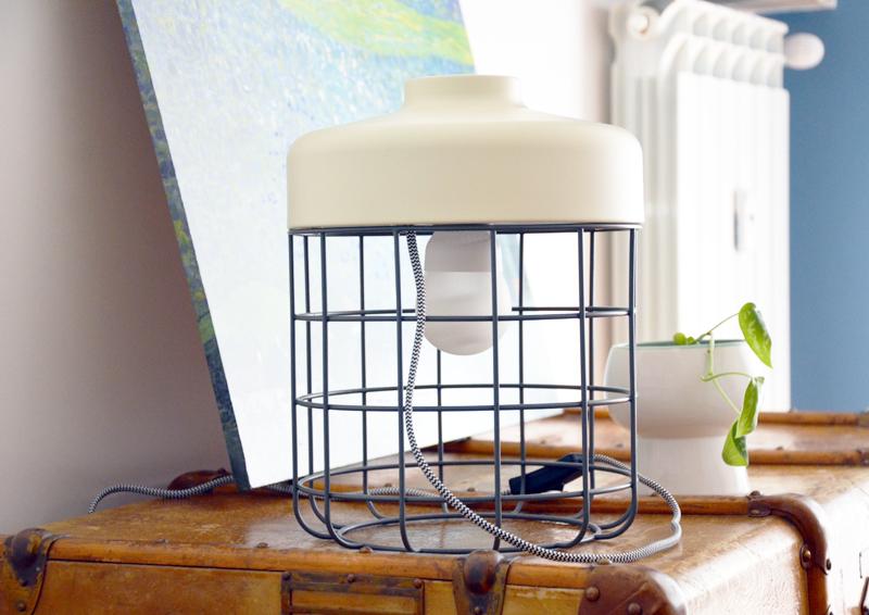 restyling camera da letto | lampada da terra / tavolo Arthur di MADE.com