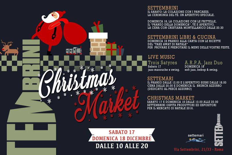 mercatini di Natale Roma | Settembrini Christmas Market