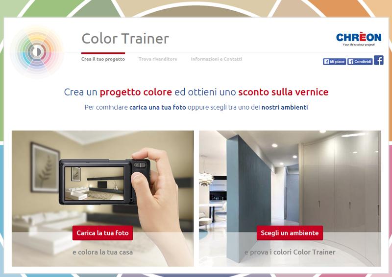 colore per interni | lo strumento Color Trainer