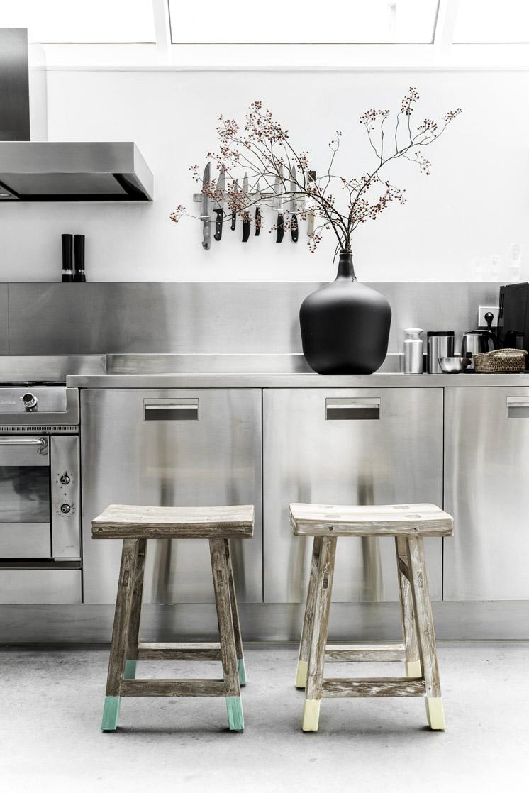 cucine in acciaio: il design incontra la funzionalità | design outfit