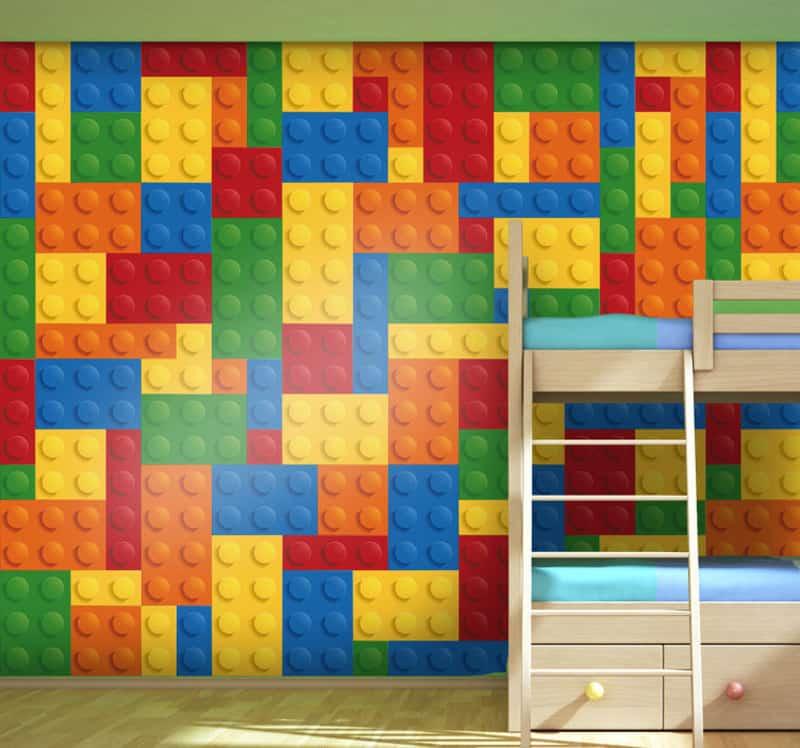 adesivi murali per bambini | adesivo bambini motivo Lego