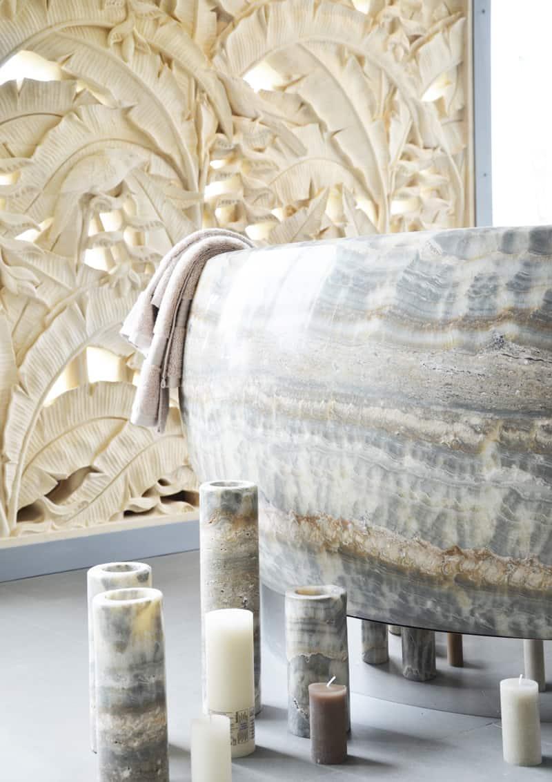 Marmo e pietre ornamentali per interni di lusso design for Interni di lusso