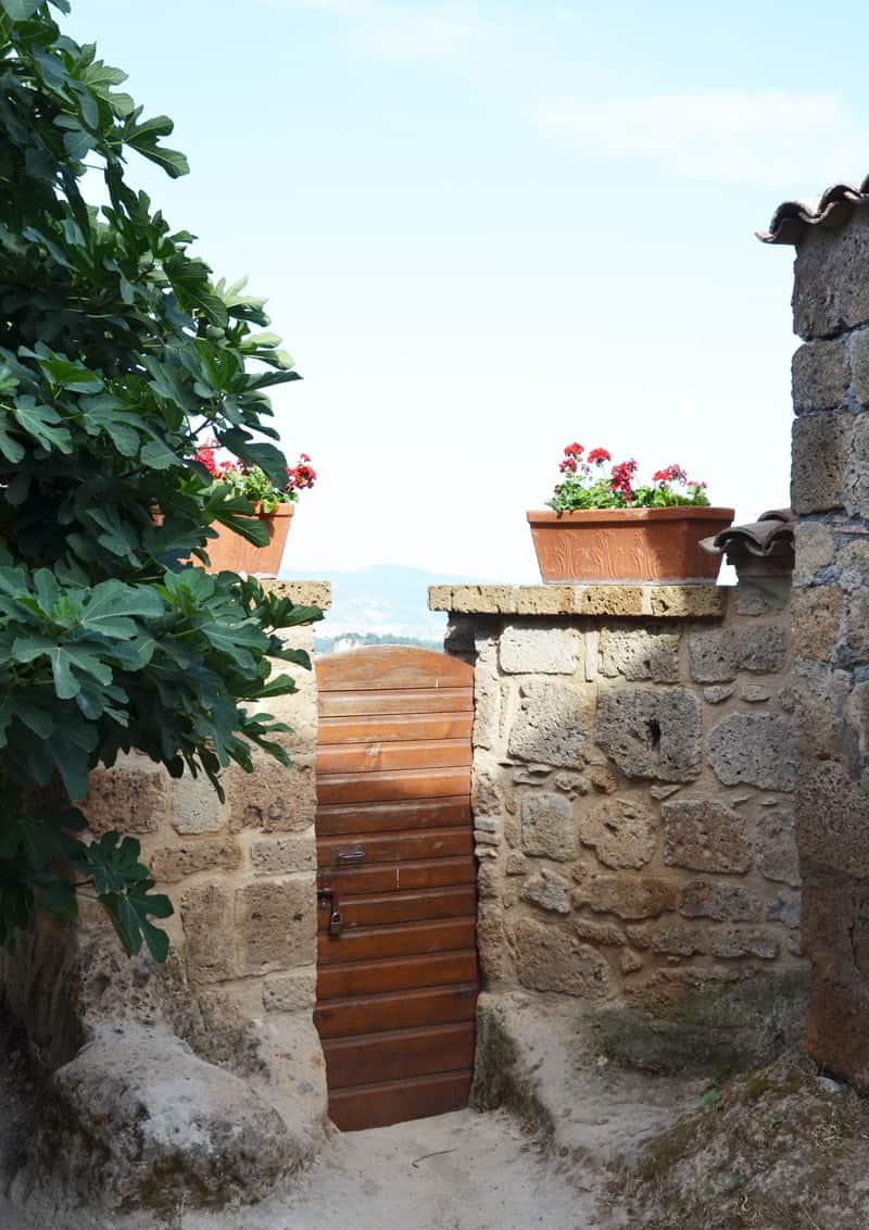 un pomeriggio di sole a Civita di Bagnoregio