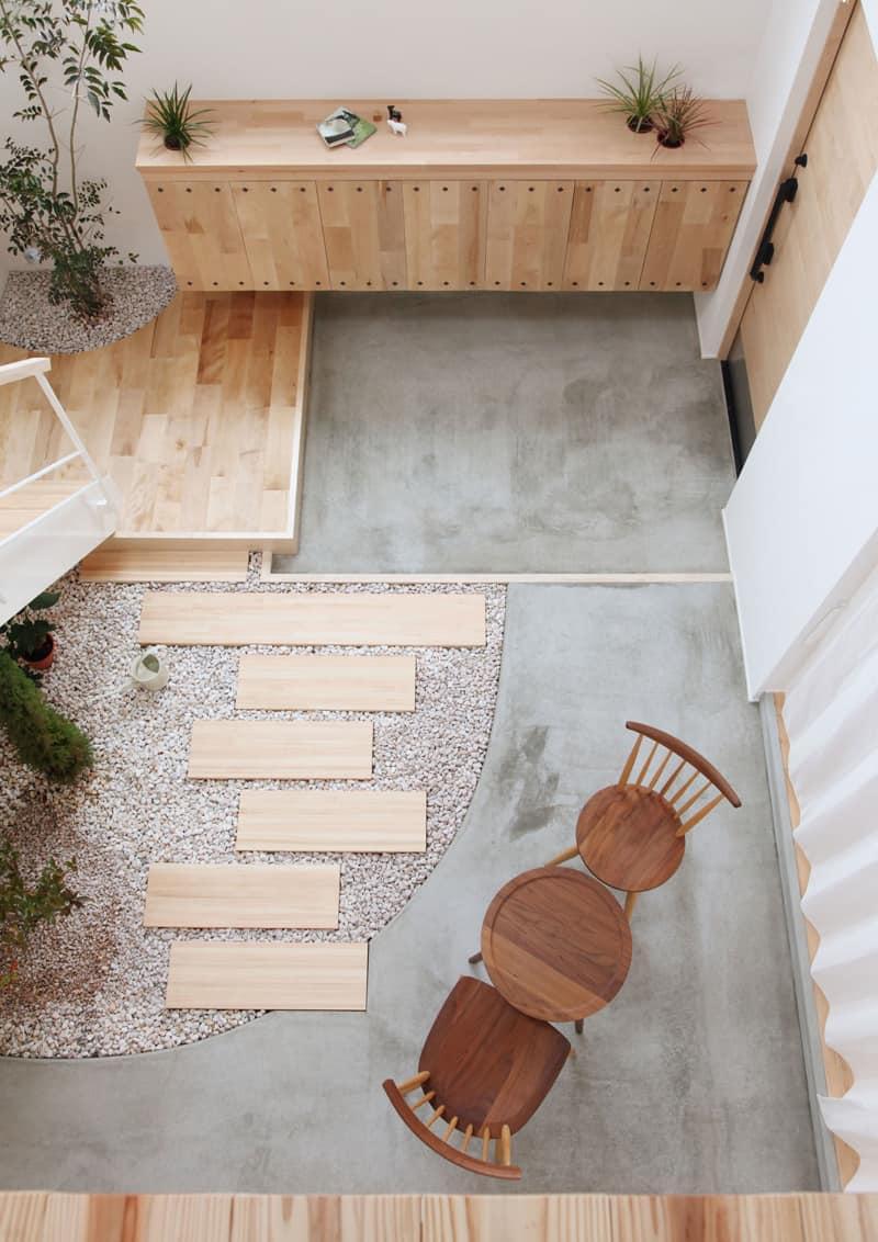 i segreti del giardino minimal in un progetto di Alts Design Office