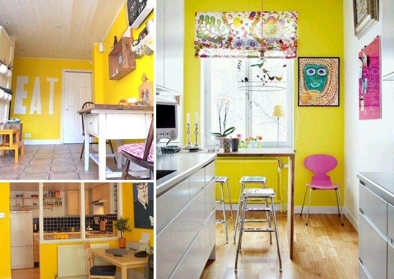 cucine gialle e felicità  il colore fa la differenza  design outfit