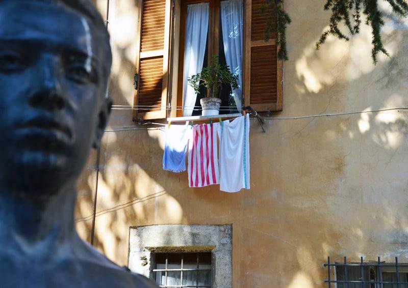 una famiglia italiana dalle Marche, con amore