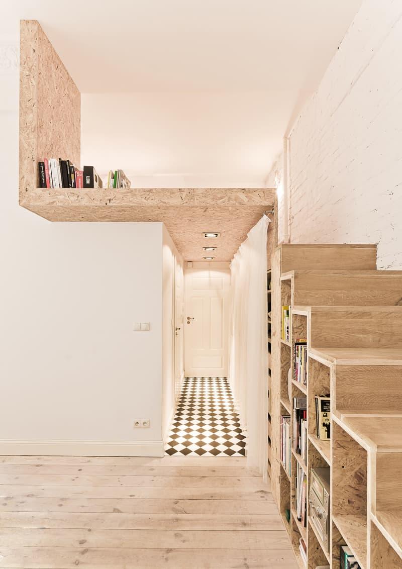 un appartamento minuscolo