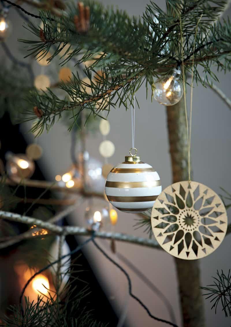 vesti la casa di bianco Natale