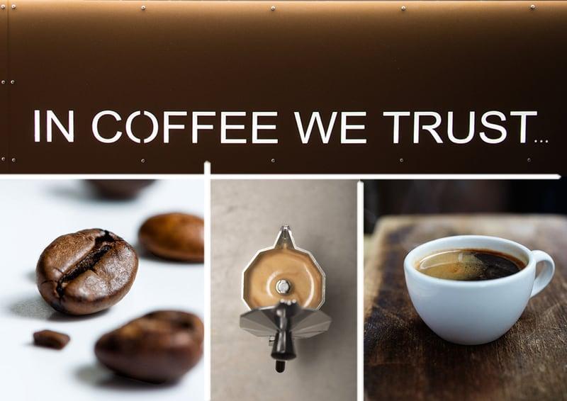 un caffè a Latina