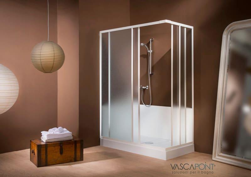 piccoli lavori in bagno, vasca in doccia