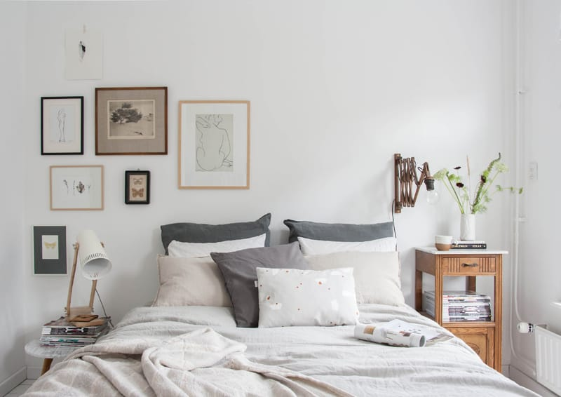 Come ricreare a casa un letto da pinterest design outfit for Decoracion dormitorio estilo nordico