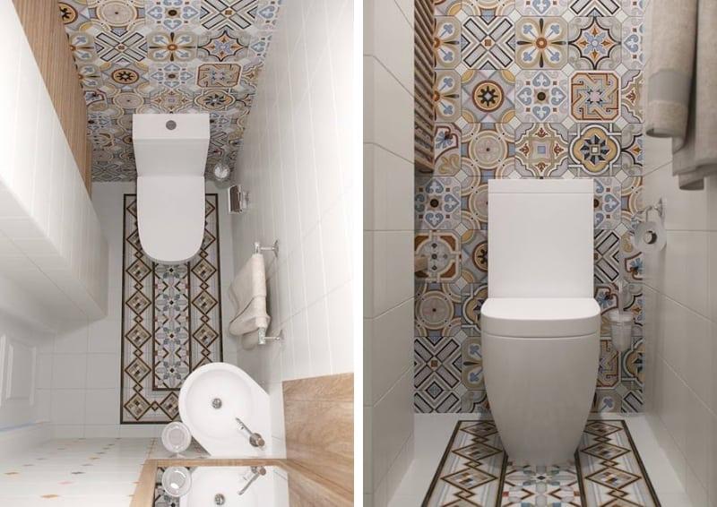 Bagno Legno E Bianco : Mini appartamento in azzurro bianco e legno design outfit