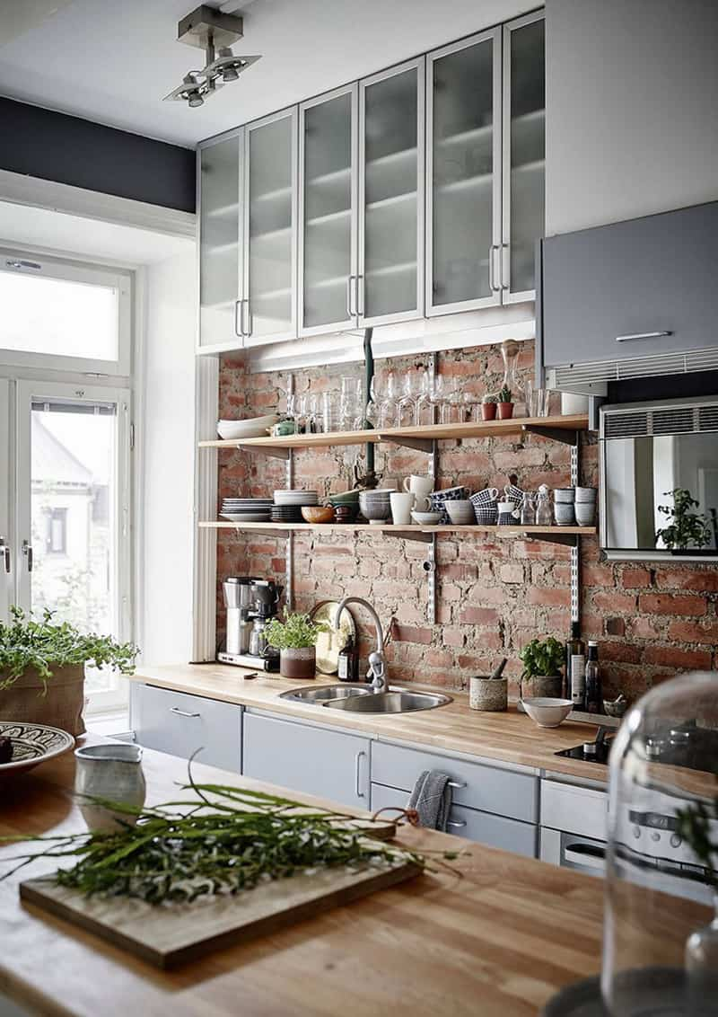 pareti in mattoni a vista per un look industriale | design ...