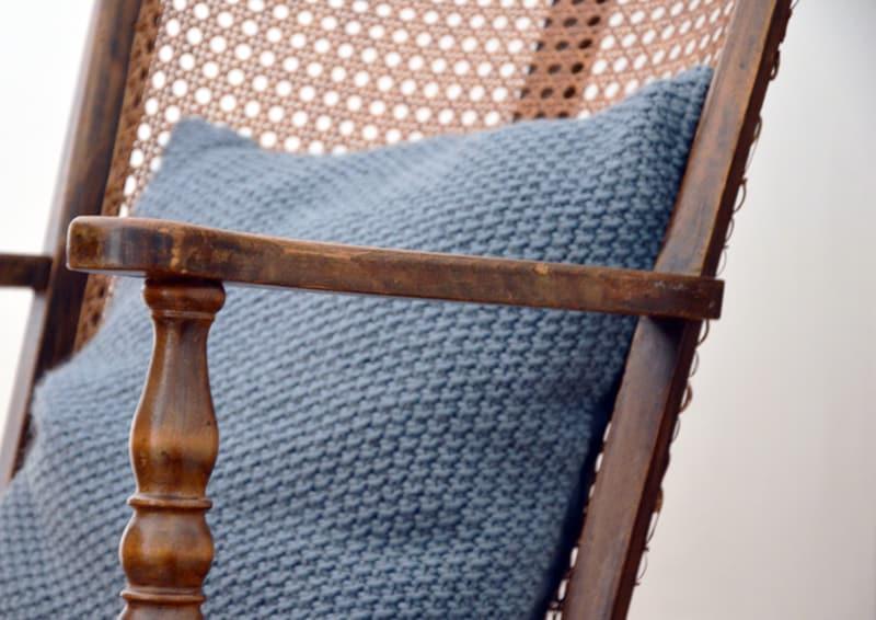 restyling camera da letto   cuscino tricot di H&M Home