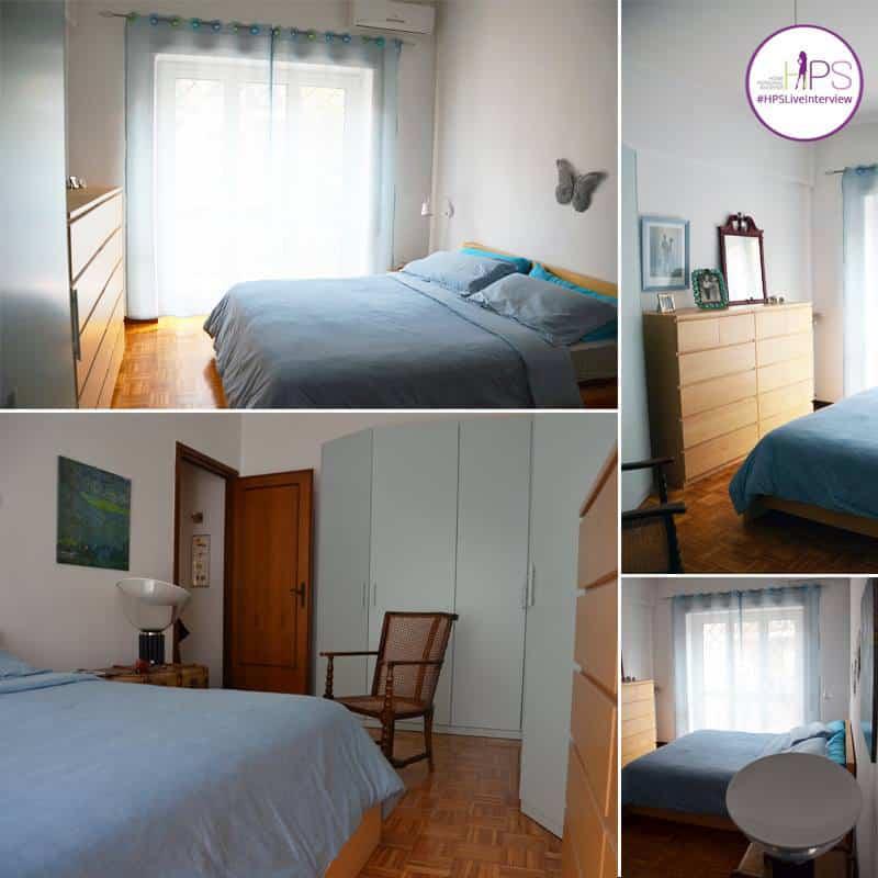 restyling camera da letto | la situazione ante operam