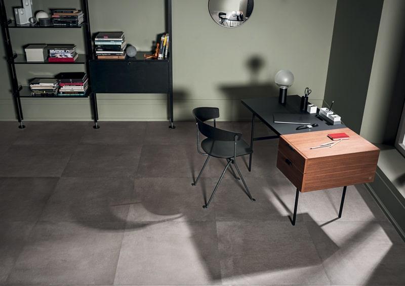 la collezione Powder di Marazzi, imitazione del cemento