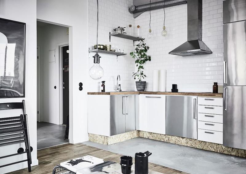 Cucine in acciaio il design incontra la funzionalit for Designer cucine
