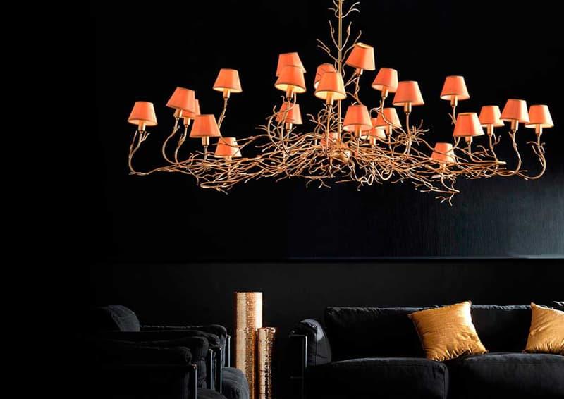 design da sogno | lampadario prezioso per ambientazione di lusso