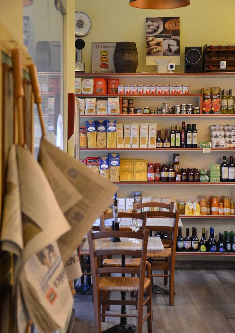 posti belli a Roma: mangiare alle Tre Zucche