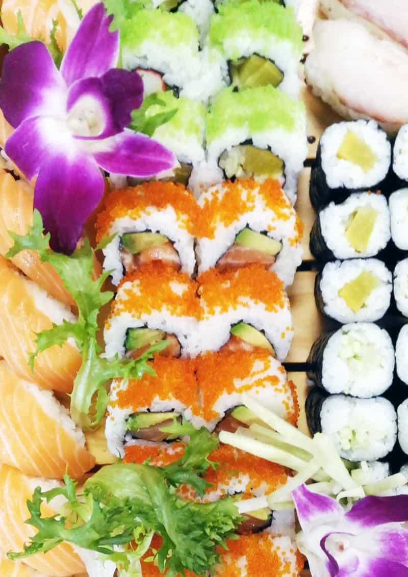posti belli a Roma: mangiare al Sushi Sun